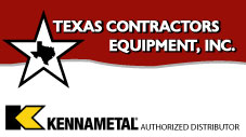 Texas Contractor Equipmemnt-Kennametal